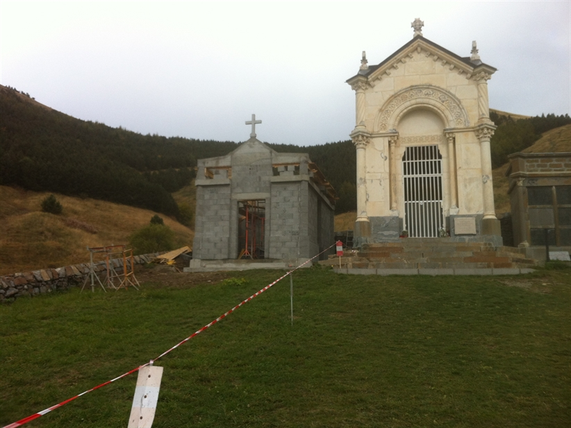 Construction d'une chapelle